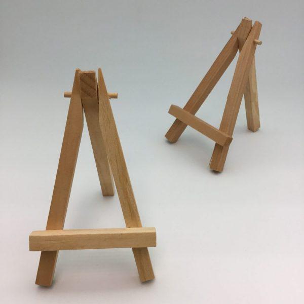 stojak drewniany na wizytówki